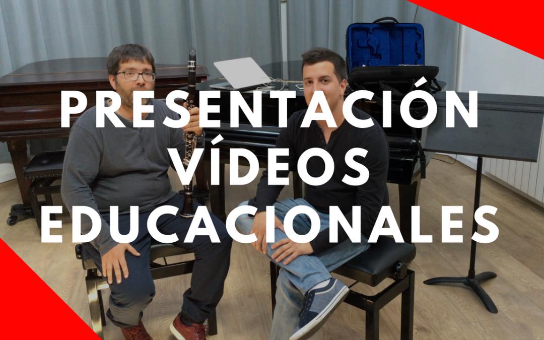 Vídeos educacionales I Francesc Vidal y Juan Pardo